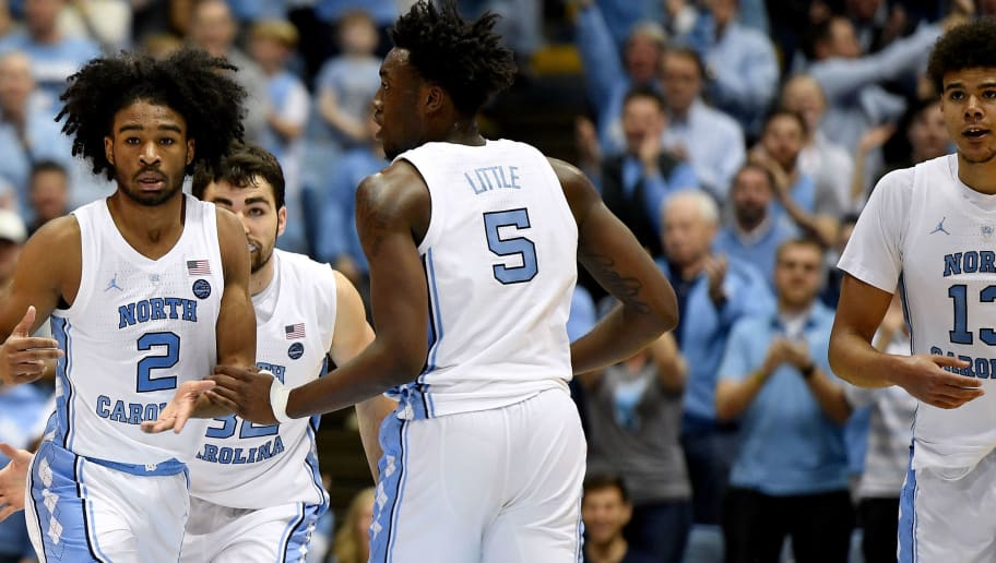 Coby White,Luke Maye,Nassir Little