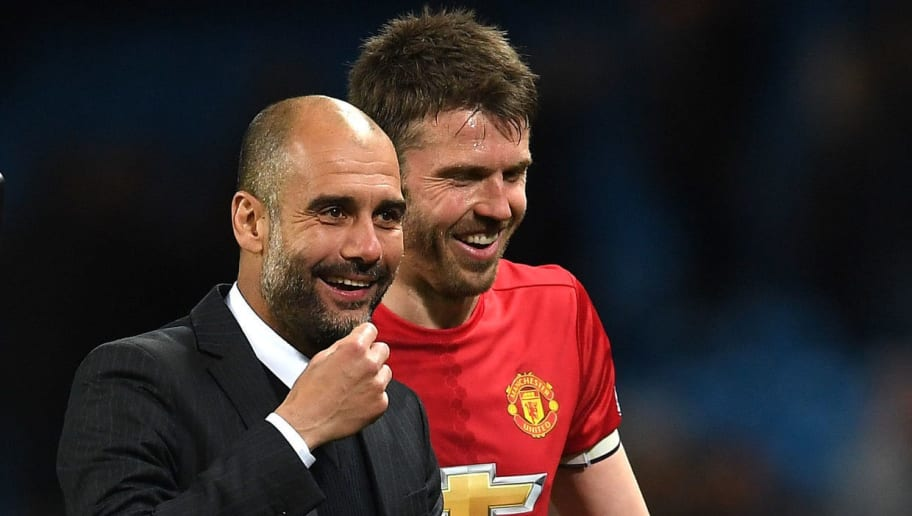 Throwback to When Guardiola Called Carrick as One of the Best Holding Midfielders He Has Ever Seen