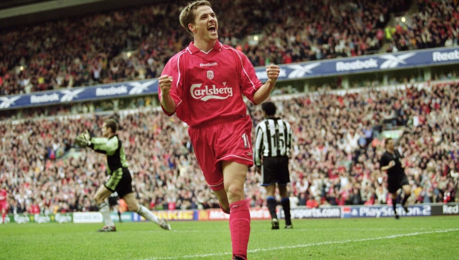 Image result for michael owen liverpool