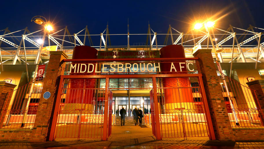 MIDDLESBROUGH, ENGLAND - JANUARY 31: A general view outside the ground prior to the Premier League match between Middlesbrough and West Bromwich Albion at Riverside Stadium on January 31, 2017 in Middlesbrough, England.  (Photo by Matthew Lewis/Getty Images)