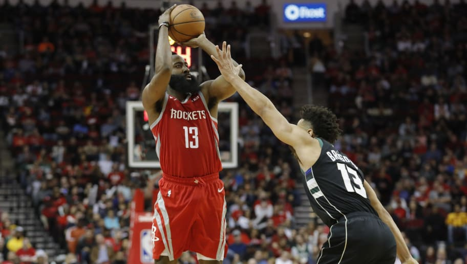 ae1ef3ca9969 James Harden on Pace to Break Stephen Curry s NBA Record for Most  3-Pointers Made in a Season