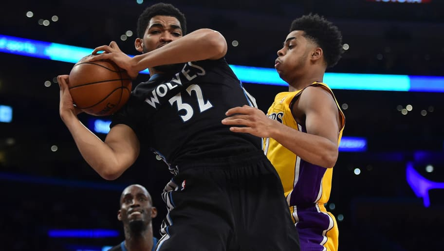 Karl Anthony Towns And D Angelo Russell Set To Make All Star Game