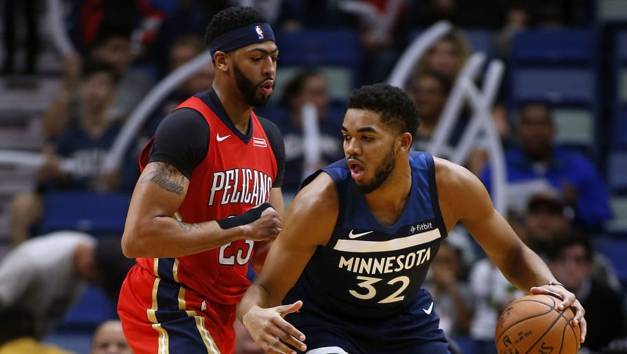 Karl-Anthony Towns,Anthony Davis