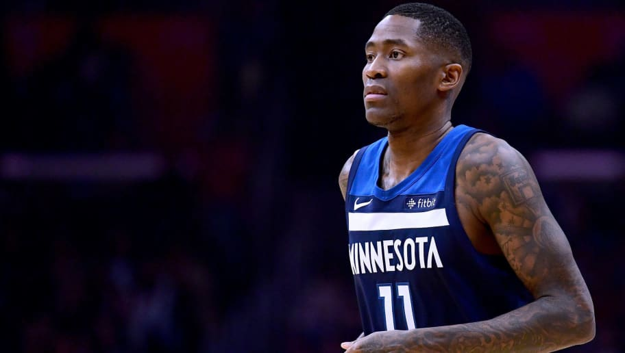 LOS ANGELES, CA - DECEMBER 06:  Jamal Crawford #11 of the Minnesota Timberwolves during a 113-107 Timberwolves win over the LA Clippers at Staples Center on December 6, 2017 in Los Angeles, California.  (Photo by Harry How/Getty Images)