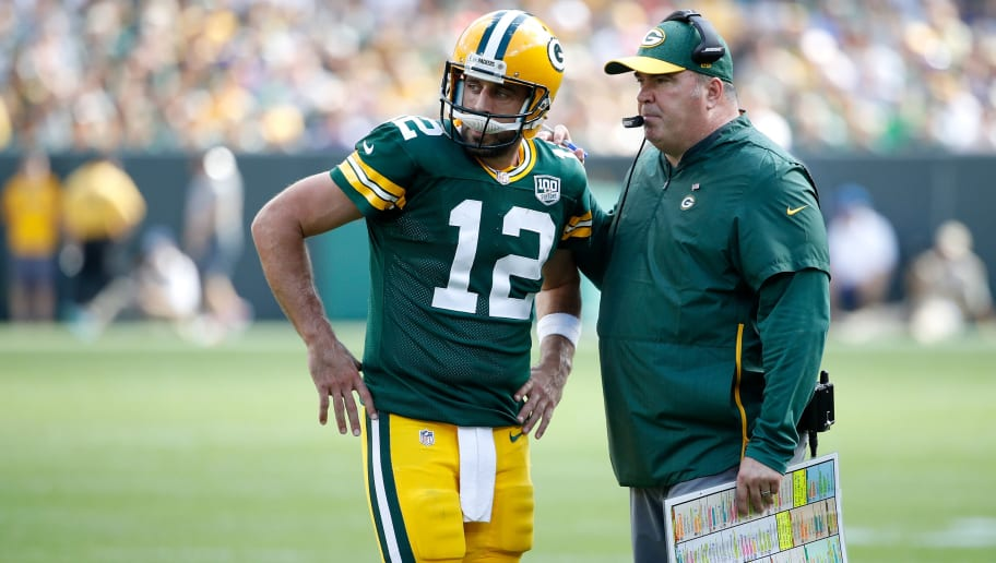 Aaron Rodgers,Mike McCarthy