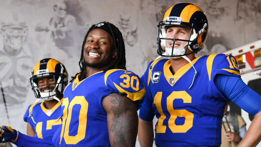 Todd Gurley,Jared Goff