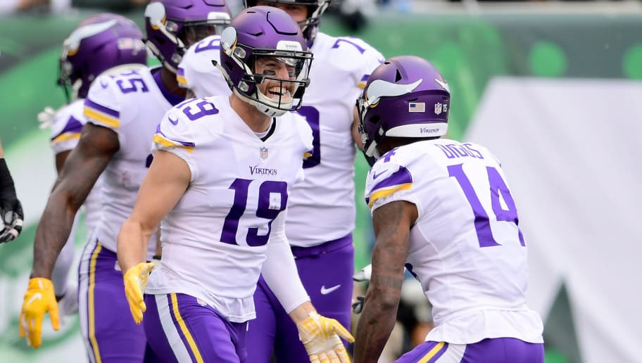 d4ef20b62 Adam Thielen and Stefon Diggs Among Most-Targeted Pass Catchers in NFL