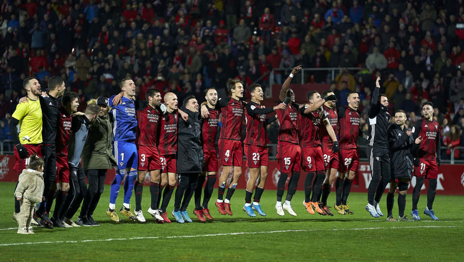 Mirandes: Who are the Plucky Underdogs in the Copa del Rey Semi ...