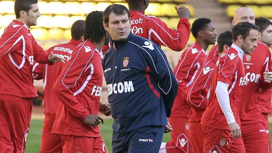 Monaco's football club new coach Laurent