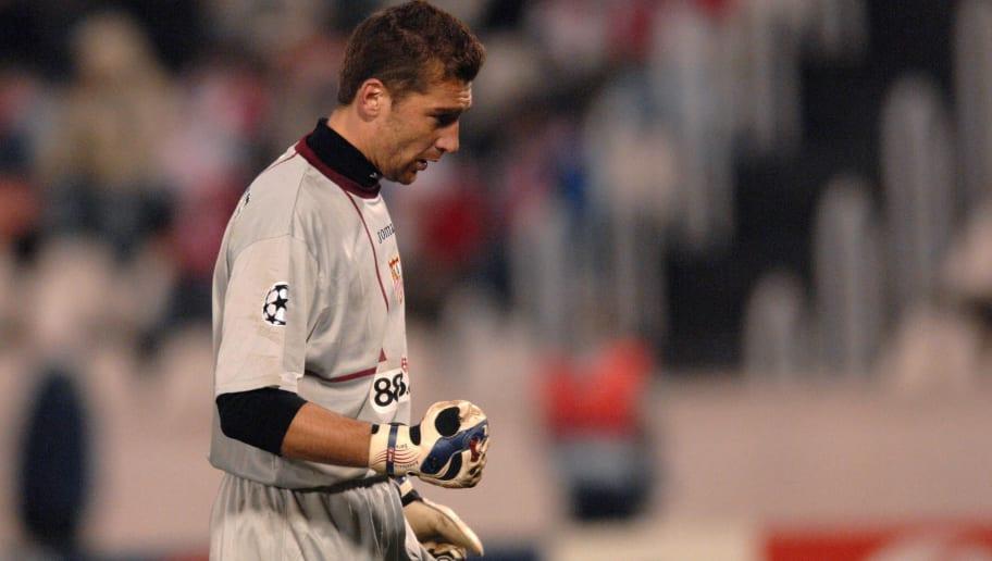 Morgan de Sanctis, goalkeeper of Sevilla