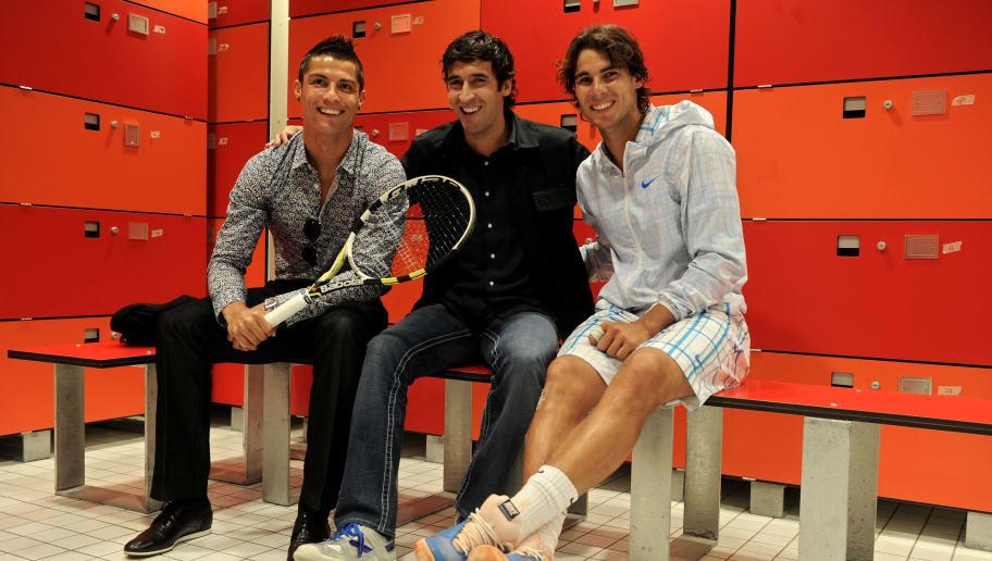 819eb9259 Rafael Nadal Hails Cristiano Ronaldo