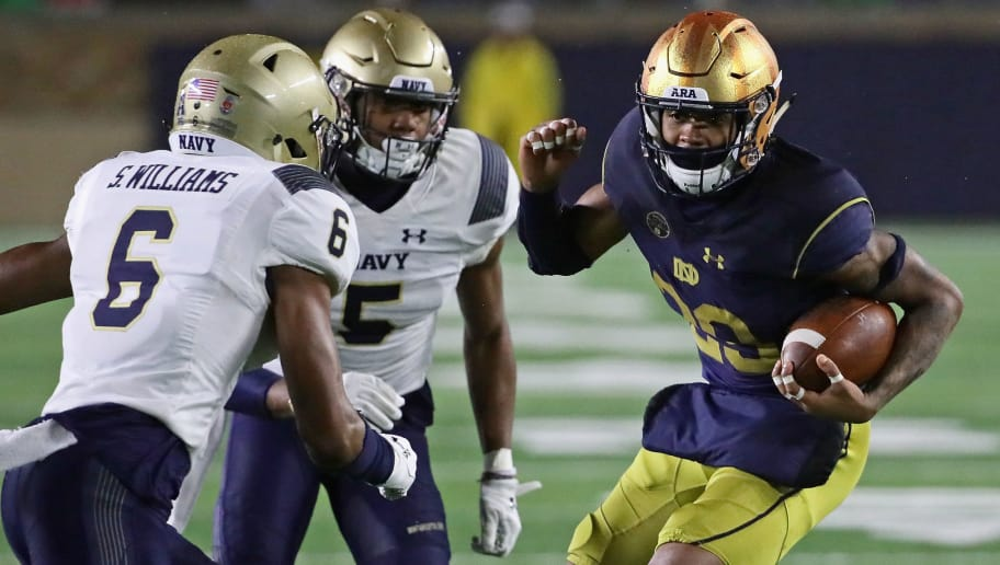 Notre Dame Will Face Navy in Ireland in 2020  24767c6d0
