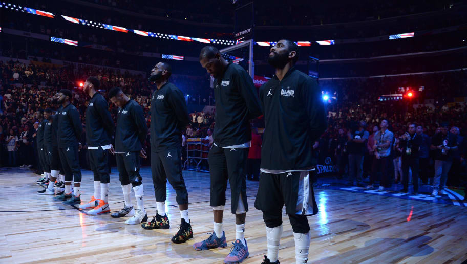 Nba All Star Game National Anthem 12up