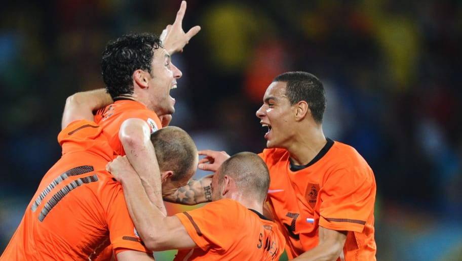 Netherlands' national football team play