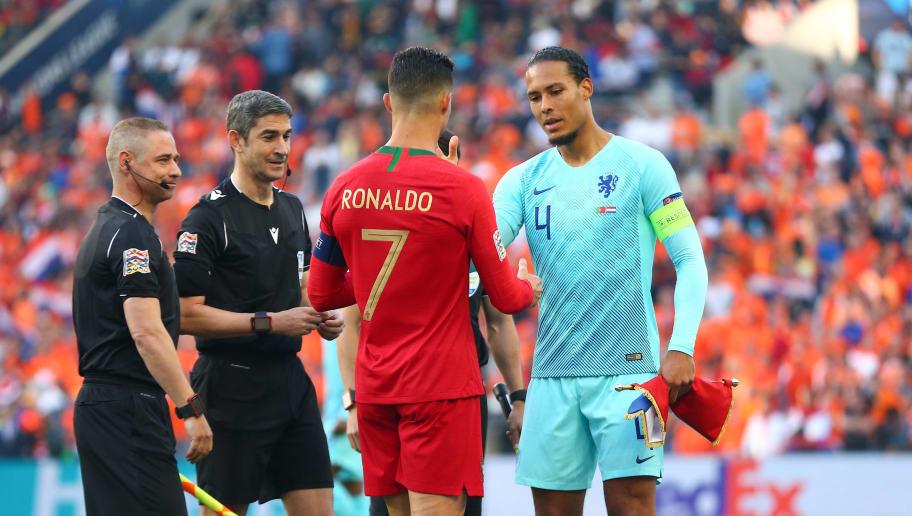 Cristiano Ronaldo,Virgil van Dijk
