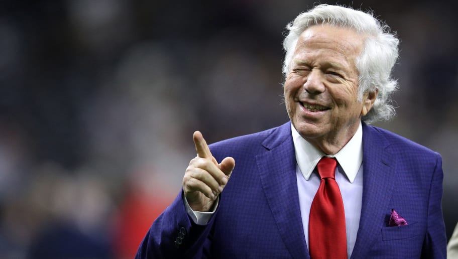 Robert Kraft Prosecutors No Longer Pursuing Human