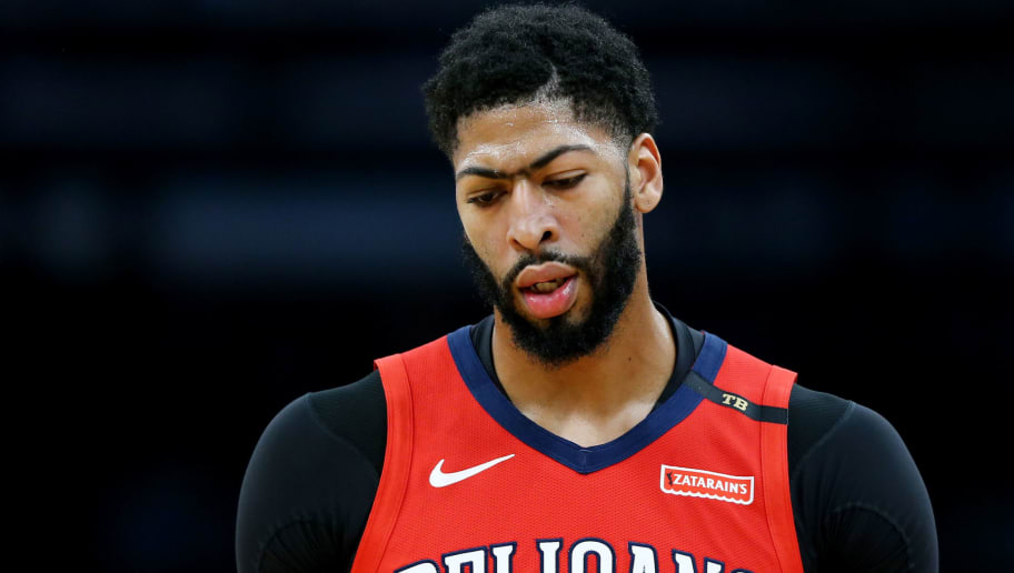 BOSTON, MA - DECEMBER 10: Anthony Davis #23 of the New Orleans Pelicans looks on during the game against the Boston Celtics at TD Garden on December 10, 2018 in Boston, Massachusetts. (Photo by Maddie Meyer/Getty Images)