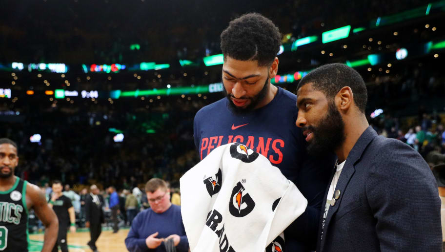 Kyrie Irving,Anthony Davis