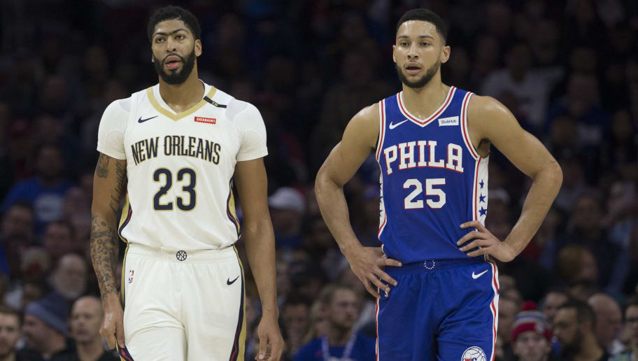 Anthony Davis,Ben Simmons