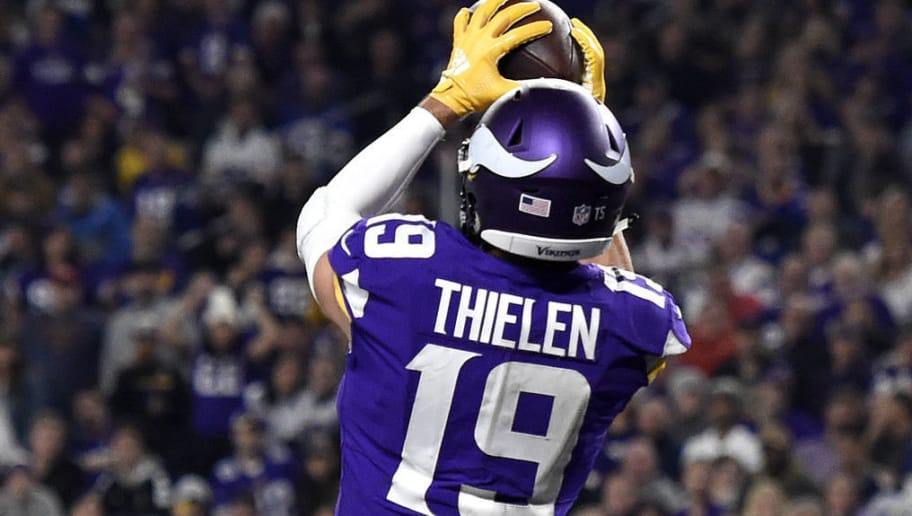purchase cheap 6d793 19ca7 Adam Thielen Isn't Slowing Down in Fantasy Football   theduel