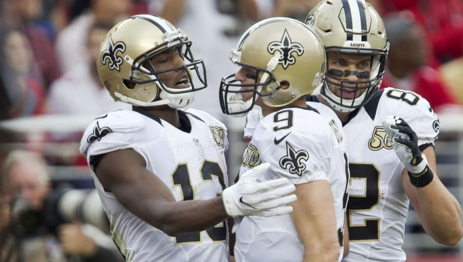 49d5734d17d Drew Brees and Michael Thomas Fantasy Owners Primed for a Big Monday Night