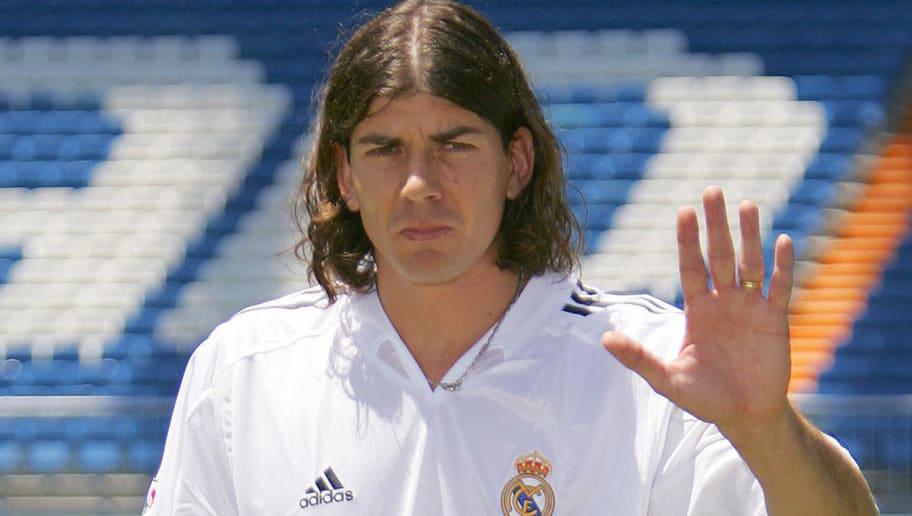 New Real Madrid football player Uruguaya