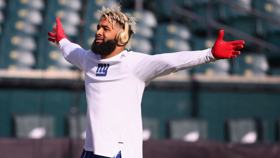 pretty nice e9576 4870b REPORT: Giants Aren't Actively Shopping Odell Beckham Jr But ...