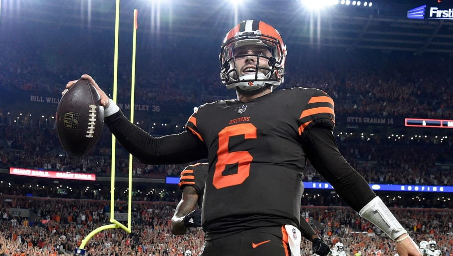 2c5399f169f Baker Mayfield Color Rush Jersey Does Ridiculous Numbers After Browns Win