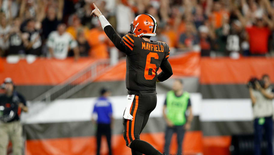 newest f9c59 45b4d Baker Mayfield Officially Named Starting QB for Cleveland ...