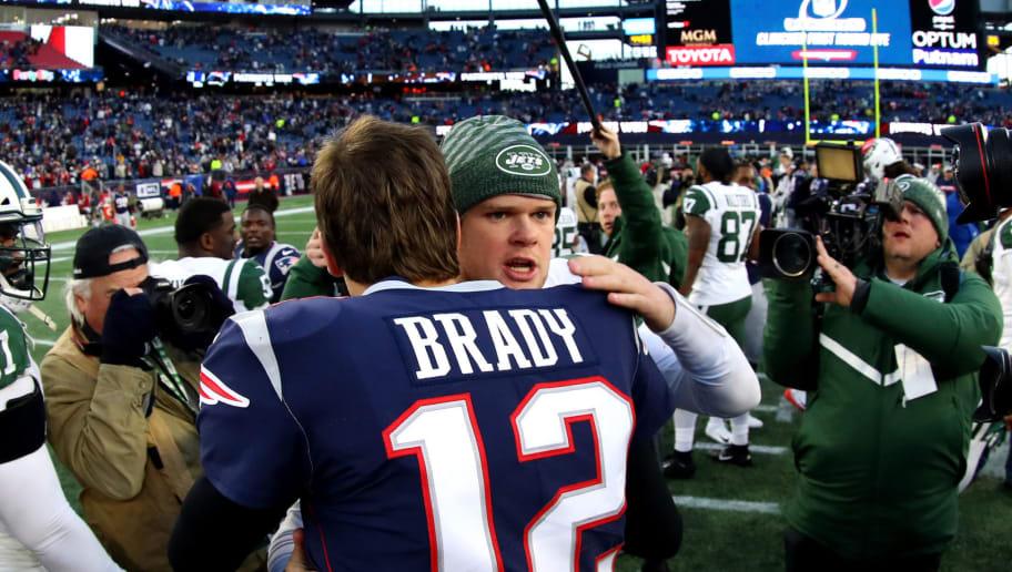 Crazy Ny Writer Rates Sam Darnold Above Tom Brady In Afc