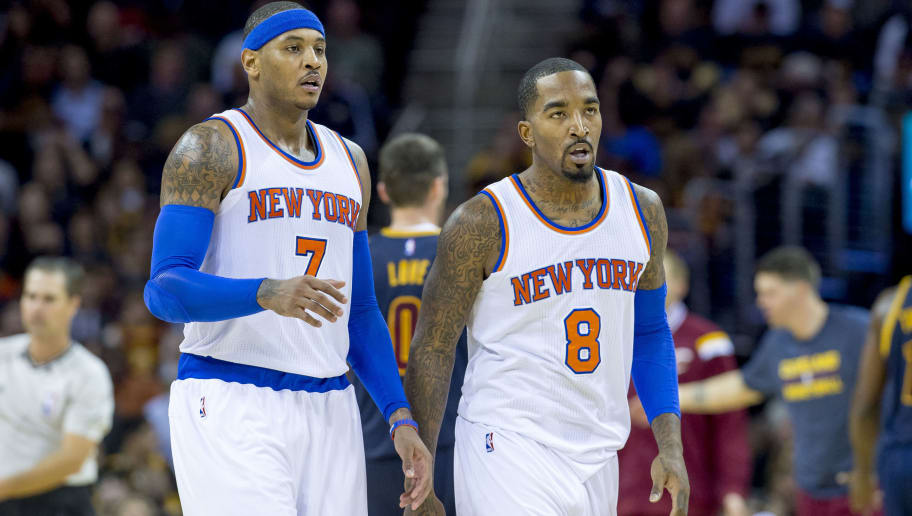 J.R. Smith,Carmelo Anthony