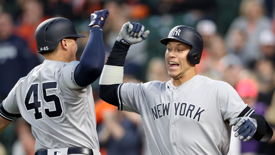 Aaron Judge,Luke Voit