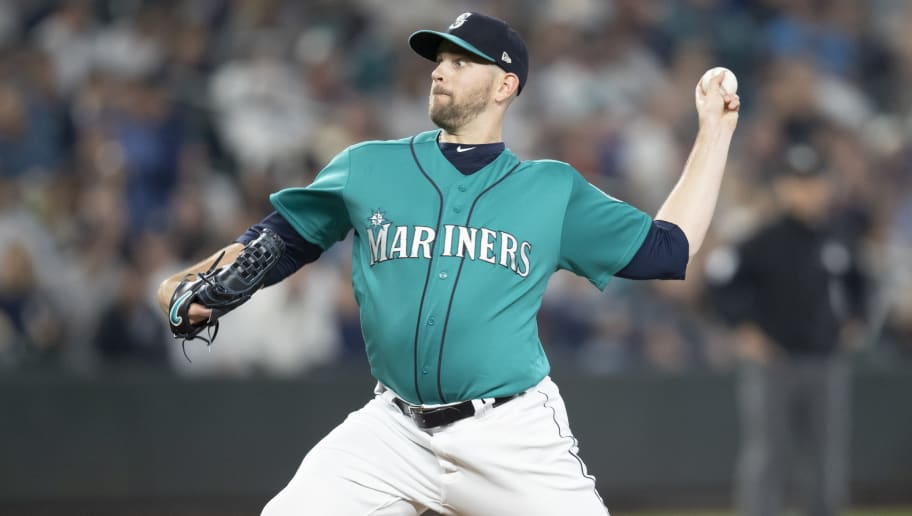 SEATTLE, WA - SEPTEMBER 7: Starter James Paxton #65 of the Seattle Mariners delivers a pitch during a game against the New York Yankees at Safeco Field on September 7, 2018 in Seattle, Washington. The Yankees won the game 4-0. (Photo by Stephen Brashear/Getty Images)