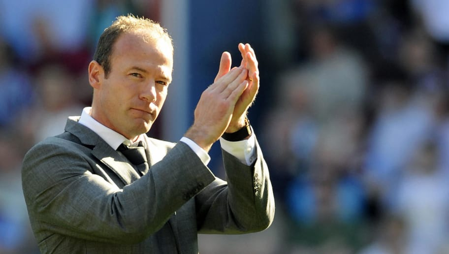 Newcastle United's Manager Alan Shearer