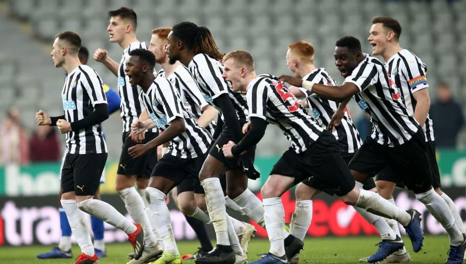 Newcastle United U23 v Macclesfield Town: Checkatrade Trophy