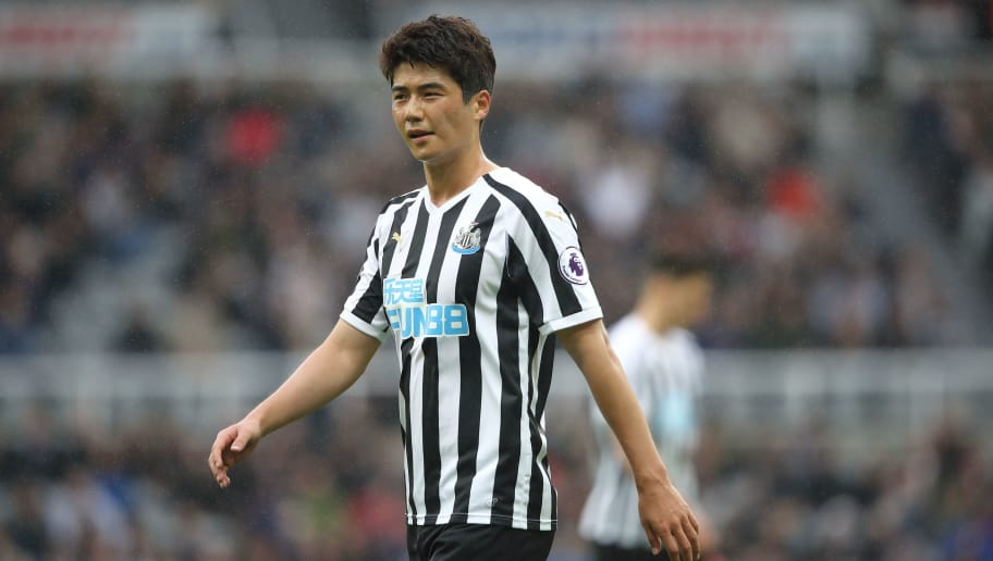 NEWCASTLE UPON TYNE, ENGLAND - AUGUST 26: Ki Sung-Yueng of Newcastle United during the Premier League match between Newcastle United and Chelsea FC at St. James Park on August 26, 2018 in Newcastle upon Tyne, United Kingdom. (Photo by Matthew Ashton - AMA/Getty Images)