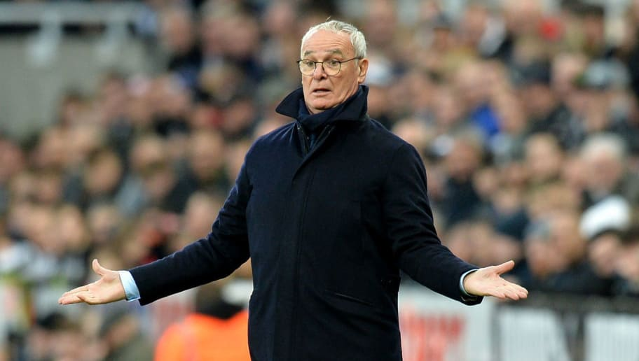 NEWCASTLE UPON TYNE, ENGLAND - DECEMBER 22:  Claudio Ranieri, Manager of Fulham reacts during the Premier League match between Newcastle United and Fulham FC at St. James Park on December 22, 2018 in Newcastle upon Tyne, United Kingdom.  (Photo by Mark Runnacles/Getty Images)