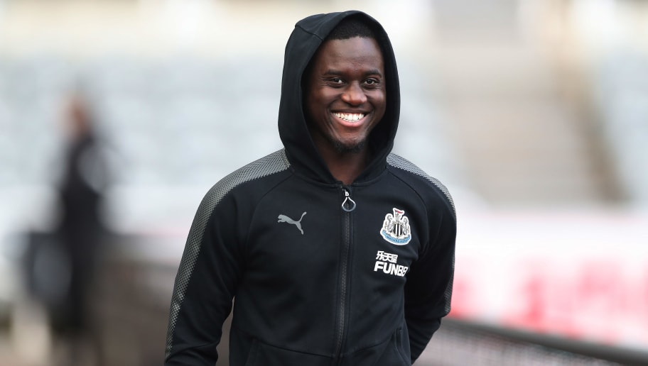 NEWCASTLE UPON TYNE, ENGLAND - JANUARY 06:  Henri Saivet of Newcastle United is seen prior to the Emirates FA Cup third round match between Newcastle United and Luton Town at St James' Park on January 6, 2018 in Newcastle upon Tyne, England. (Photo by Ian MacNicol/Getty Images)