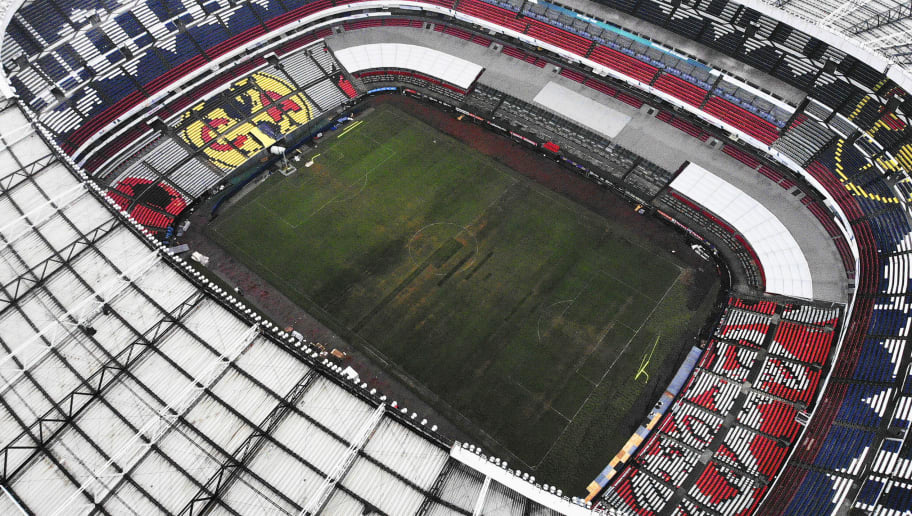 NFL Agrees to Return to Mexico City in 2019 Despite Awful Field Conditions  This Season a9fb6cae34f