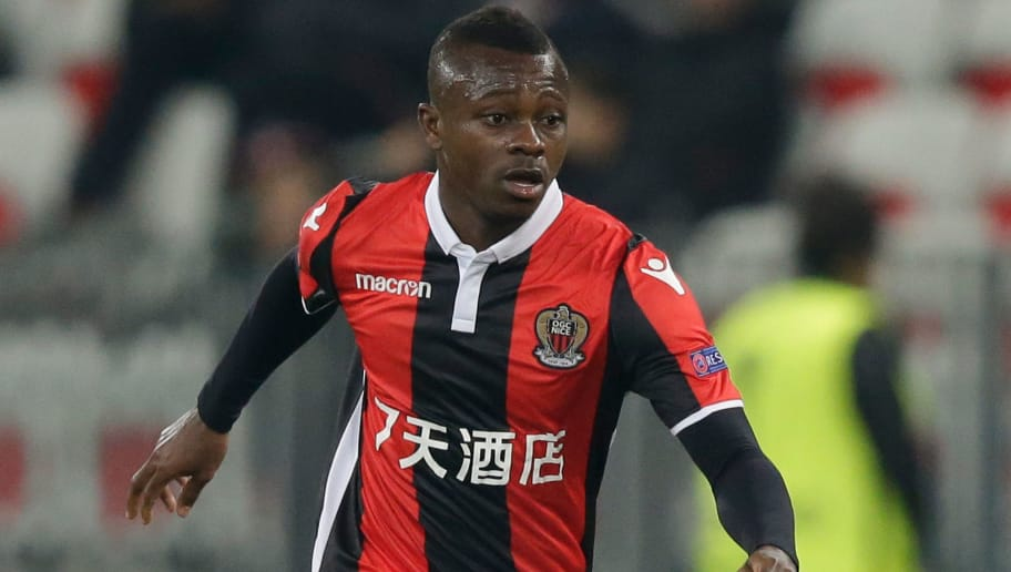 NICE, FRANCE - NOVEMBER 23: Jean Seri of Nice during the UEFA Europa League   match between Nice v Zulte Waregem at the Allianz Riviera on November 23, 2017 in Nice France (Photo by Jeroen Meuwsen/Soccrates/Getty Images)