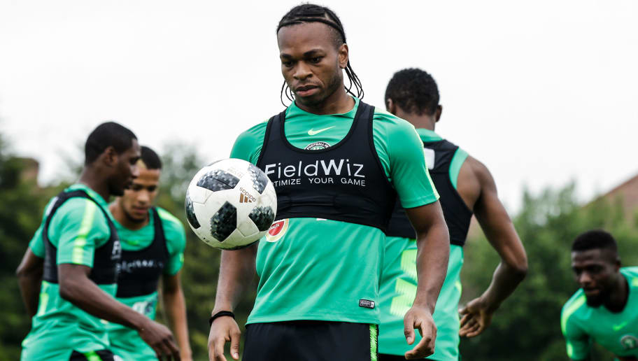 BARNET, UNITED KINGDOM - MAY 31: Joel Obi of Nigeria during the   Nigeria Training at the The hive on May 31, 2018 in Barnet United Kingdom (Photo by Erwin Spek/Soccrates/Getty Images)