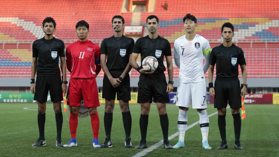 Image result for north vs south korea football