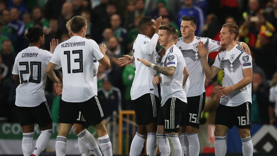 Northern Ireland 0 2 Germany Report Ratings Reaction As Visitors Fight To Earn Win 90min