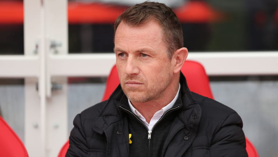 NOTTINGHAM, ENGLAND - MARCH 11: Derby County manager Gary Rowett during the Sky Bet Championship match between Nottingham Forest and  Derby County at City Ground on March 11, 2018 in Nottingham, England. (Photo by James Williamson - AMA/Getty Images)