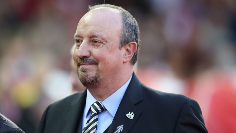 NOTTINGHAM, ENGLAND - AUGUST 29: Newcastle United manager \ head coach Rafael Benitez during the Carabao Cup Second Round match between Nottingham Forest and Newcastle United at City Ground on August 29, 2018 in Nottingham, England. (Photo by James Williamson - AMA/Getty Images)