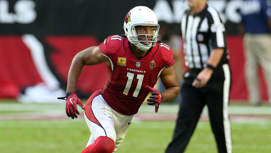 purchase cheap d138e f6a59 Larry Fitzgerald Has More Tackles Than He Does Dropped ...