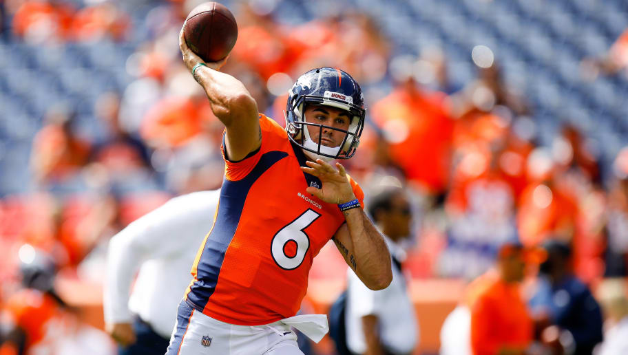 online store b991b 10d3c Chad Kelly's Arrest Likely Ensures Case Keenum of Broncos ...