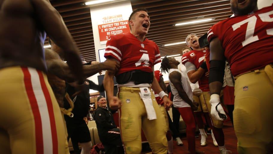 32ec18b90 REPORT  49ers to Start Nick Mullens Against Giants in Week 10