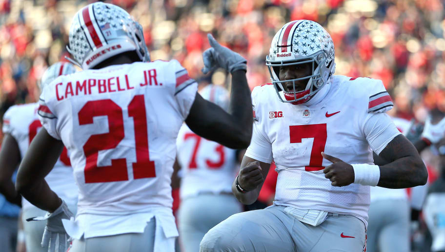 Michigan Wolverines At Ohio State Buckeyes College Football