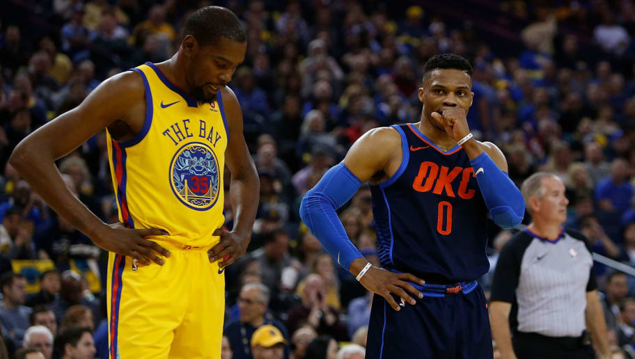 Kevin Durant,Russell Westbrook
